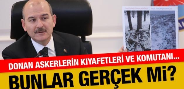 Donarak şehit olan askerlere ilişkin Süleyman Soylu'dan açıklamalar