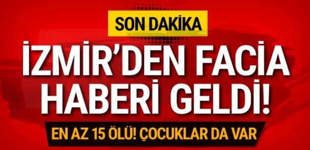 İzmir'den fa-ci-a haberi geldi! En az 15 ö-lü! Çocuklar da var!