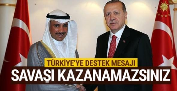 Kuveyt Meclis Başkanı'ndan destek: Türkiye muz cumhuriyeti değildir