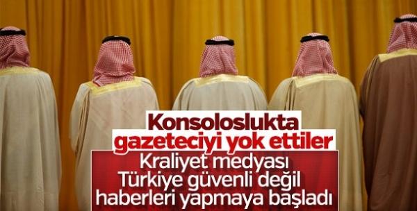 Suud medyasının hedefinde Türkiye var!