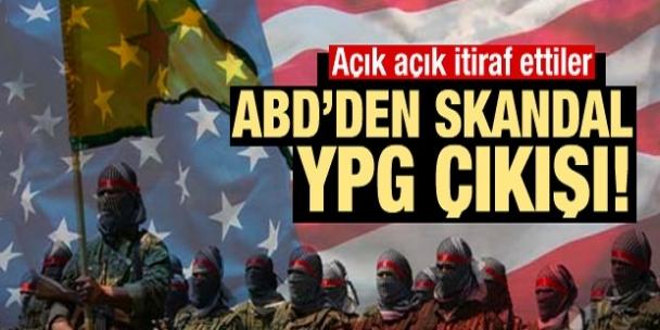 ABD'den skandal YPG açıklaması!