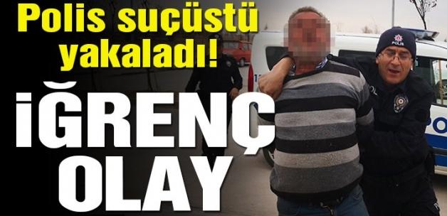 Aksaray'da çocuğa taciz iddiası