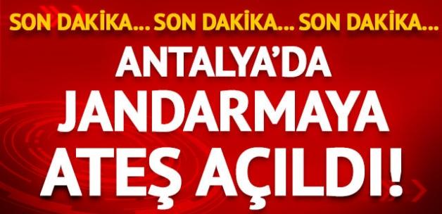 Antalya'da jandarmaya ateş açıldı: 2 asker yaralı