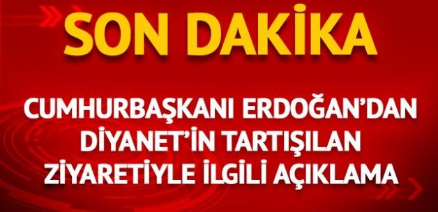 """Cumhurbaşkanı Erdoğan, konuyla ilgili olarak """""""