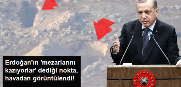 Erdoğan'ın 'Mezarlarını Kazıyorlar' Dediği PYD Tünelleri Ortaya Çıktı