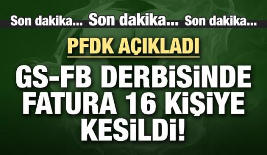 İşte olaylı derbide PFDK'ya sevk edilen isimler!