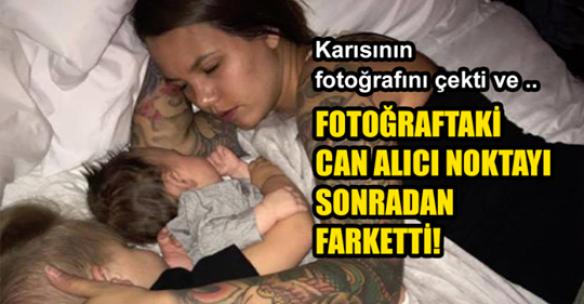 Karısının Fotoğrafını Gizlice Çekti ve Yabancılar Fotoğraftaki Can Alıcı Ayrıntıyı Keşfetti