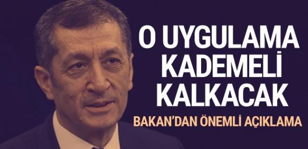 Milli Eğitim Bakanı Ziya Selçuk'tan önemli açıklamalar..