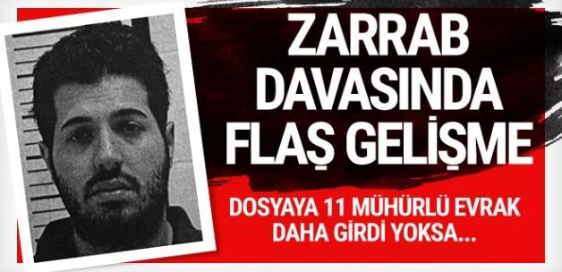 Zarrab dosyasına 11 mühürlü belge daha girdi! İtiraflara devam mı ediyor?