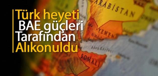 Yemen'e insani yardıma giden Türk heyet alıkonuldu!