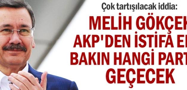 Hayırlı Olsun. Melih Gökçek AKP'den istifa edip bakın hangi partiye geçecek