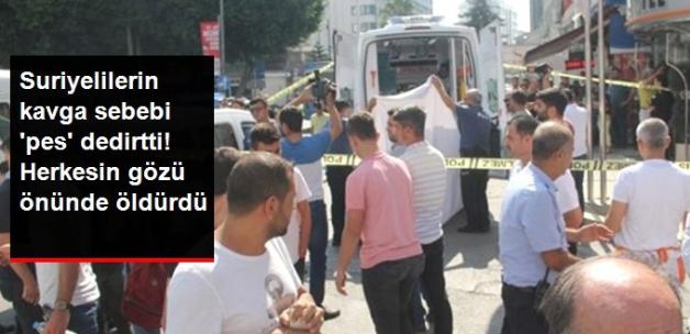 Suriyelilerin kavgası kanlı bitti! Sebep pes dedirtti!