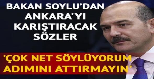 İçişleri Bakanı Soylu'dan Kılıçdaroğlu'yla ilgili dikkat çeken sözler!