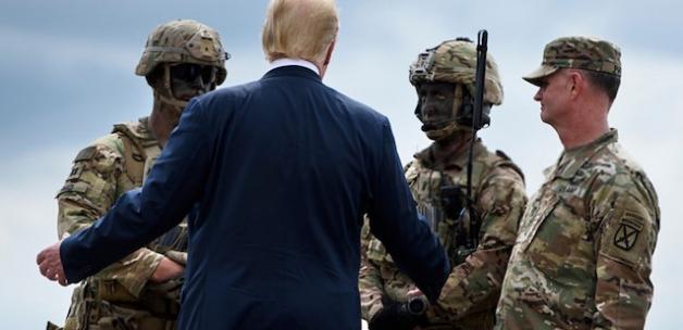 Trump: Venezuela'ya asker gönderebiliriz