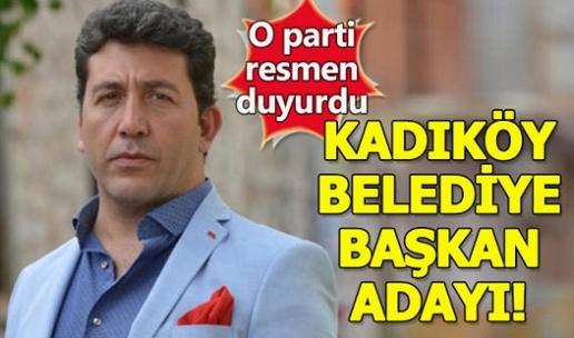 Ünlü Oyuncu Emre Kınay, İstanbul Kadıköy Belediye Başkan Adayı Oldu