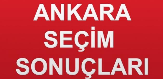 Ankara Seçim Sonuçları - 31 Mart 2019 Ankara Seçim Sonucu