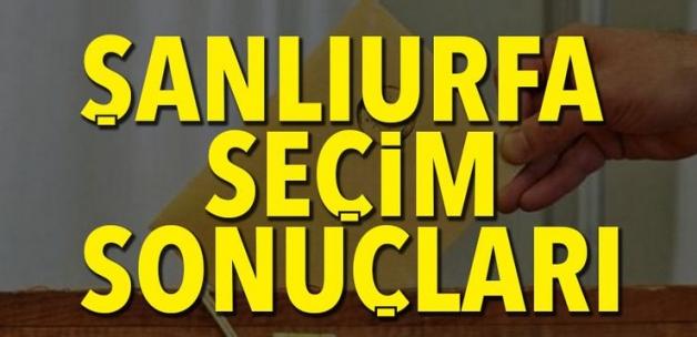 ŞANLIURFA Seçim Sonuçları - 31 Mart 2019 ŞANLIURFA Seçim Sonucu
