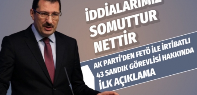 Ali İhsan Yavuz: Tüm iddialarımız nettir