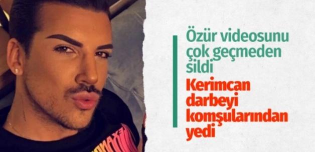 Kerimcan Durmaz'ın özür videosu işe yaramadı