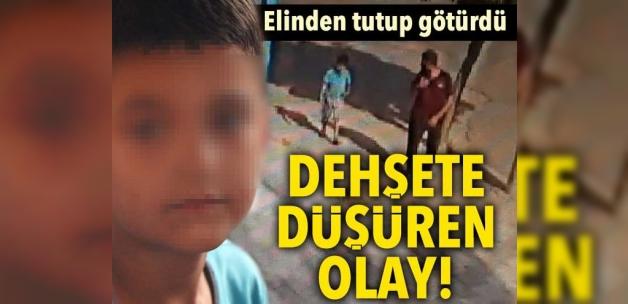 Kaçırılan çocuk 2 saat sonra bulundu