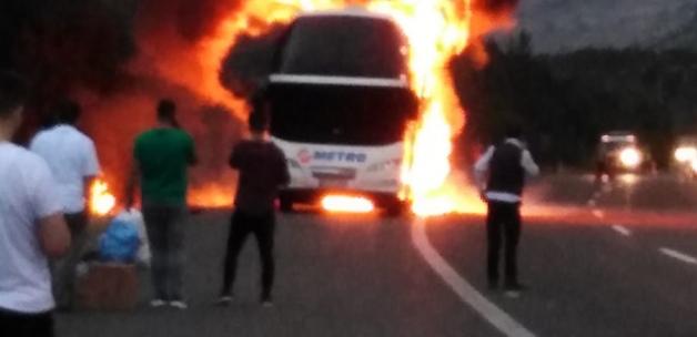 15 gün içinde 4'üncü otobüs yangını