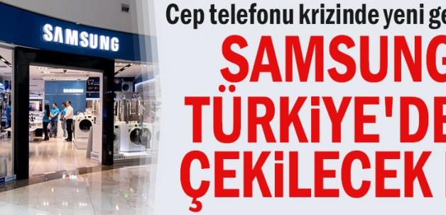 Cep telefonu krizinde yeni gelişme... Samsung Türkiye'den çekilecek mi