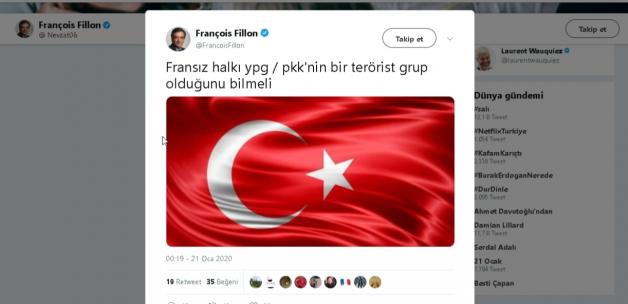 Pkk Destekcisi Fransa Basbakanına Türk Tokadi