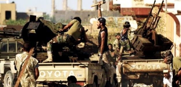 UMH birliklerinden Hafter milislerine karşı 'Barış Fırtınası' operasyonu