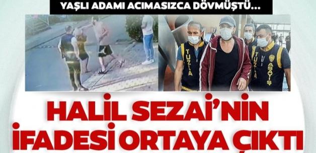 Son dakika: Yaşlı adamı darp etmişti... Halil Sezai tutuklanarak Maltepe Cezaevi'ne gönderildi