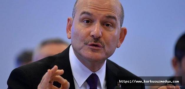 İçişleri Bakanı Süleyman Soylu önemli açıklamalarda bulunuyor