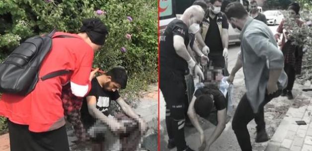 Kız arkadaşıyla sokakta yürüdüğü sırada kurşunların hedefi oldu! Kanlar içinde kalan genç, dayanamayarak baygınlık geçirdi