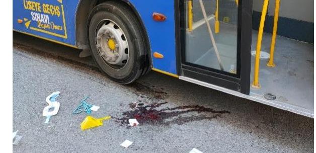 Trafiğe açık yolda paten süren çocuk otobüsün altında kaldı! Durumu kritik.......