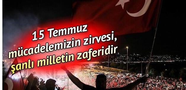 15 Temmuz'da selaların okunması talimatını veren Mehmet Görmez, 5 büyük manevi dinamiği açıkladı