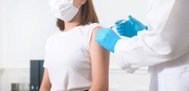 Amasya aşı haritasında 'mavi' oldu