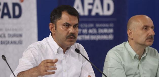 Çevre ve Şehircilik Bakanı Murat Kurum: Yangından sonra da imara açmayacağız