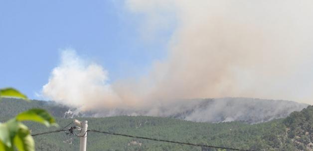 Manavgat Bodrum Milas Marmaris orman yangınlarında son durum Köyceğiz'de iki mahalle boşaltıldı