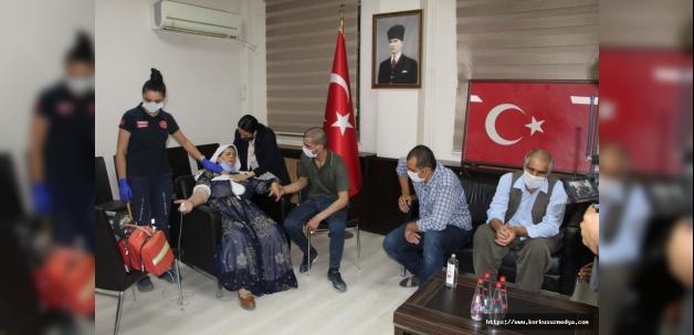 Şırnak'ta ikna yoluyla teslim olan PKK'lı terörist, ailesiyle buluşturuldu