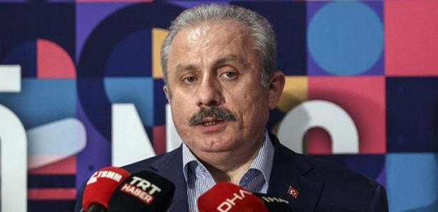 TBMM Başkanı Şentop, gündeme ilişkin değerlendirmelerde bulundu