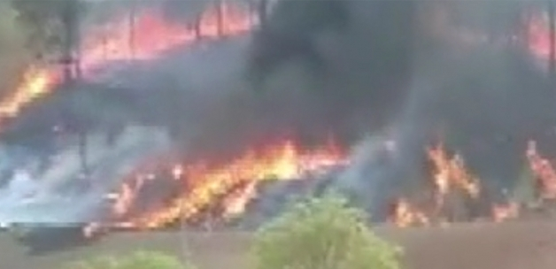 Brezilya'nın Sao Paulo eyaletinde uçak düştü 7 ölü