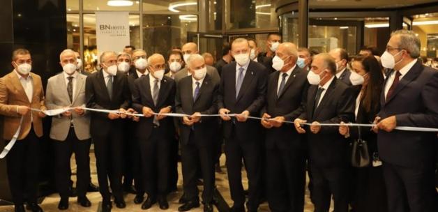 Cumhurbaşkanı Erdoğan Mersin'de; otel açılışına katıldı