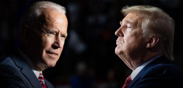 Donald Trump'tan Joe Biden'e beceriksiz nitelemesi