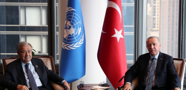New York'taki Türkevi'nin ilk konuğu BM Genel Sekreteri Guterres oldu