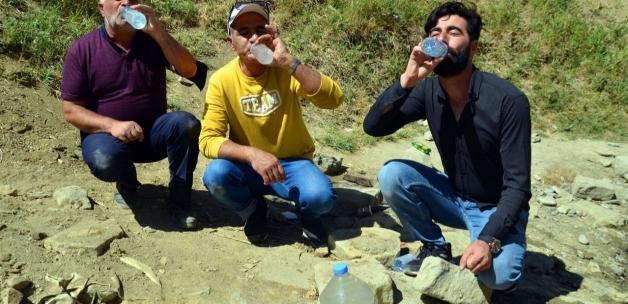 'Şifalı' dedikleri pis sudan içiyorlar! Türkiye'nin dört bir yanından Muş'a akın var