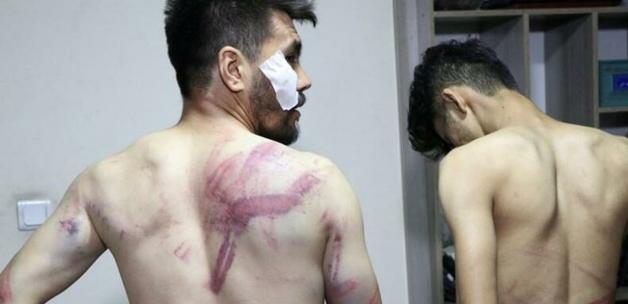 Taliban'dan Afgan gazetecilere işkence! Görüntüler kan dondurdu