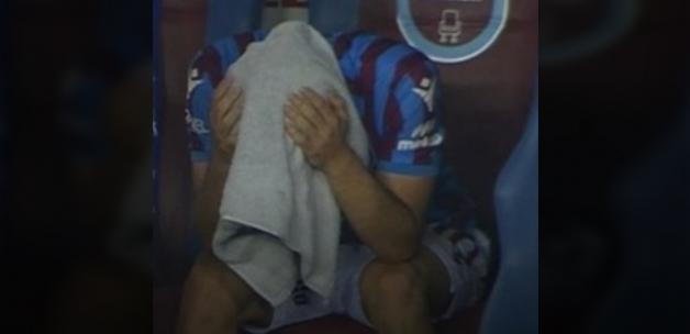 Trabzonspor'da Abdülkadir Ömür gözyaşlarını tutamadı