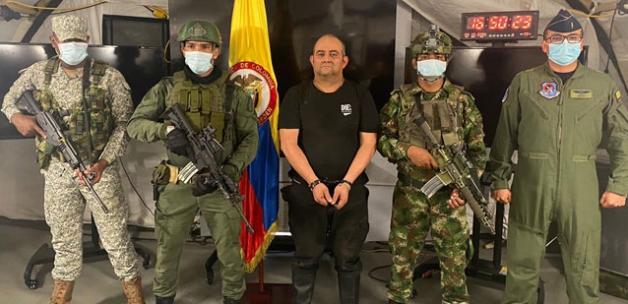 Kolombiya'nın en çok aranan uyuşturucu baronu Otoniel yakalandı