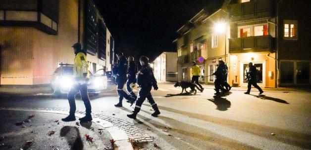 Norveç'te oklu saldırı dehşeti