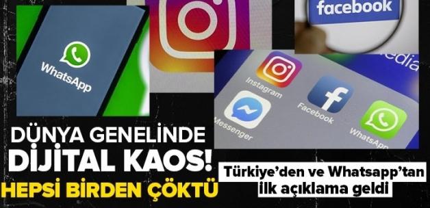 Son dakika: Whatsapp Instagram ve Facebook'a erişim sağlanamıyor! Whatsapp Instagram ve Facebook çöktü mü? Whatsapp mesajları neden iletilmiyor?