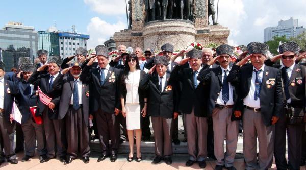 20 Temmuz Barış Ve Özgürlük Bayramı Taksim'de Kutlandı