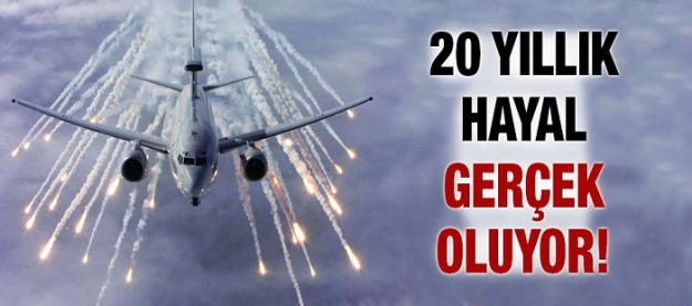 20 yıllık hayal gerçek oluyor...
